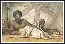 Schizzo del Re Vu-ni-valu, Re di Bau