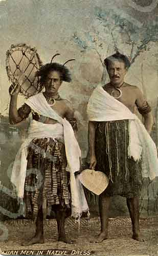 Fiji Postcards 3c The Fijian People 1890 1939