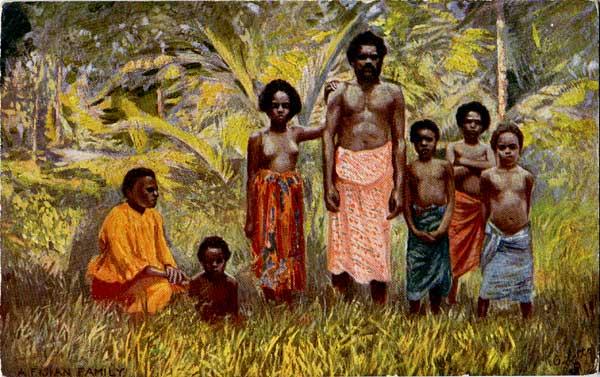 Fiji Postcards 3c The Fijian People 1890 1939
